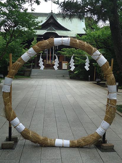 桜神宮:夏越の祓